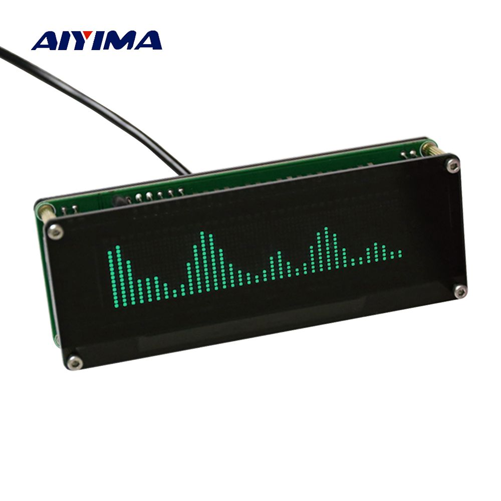 Analyzers & Data Acquisition AK2132 OLED Music Spectrum