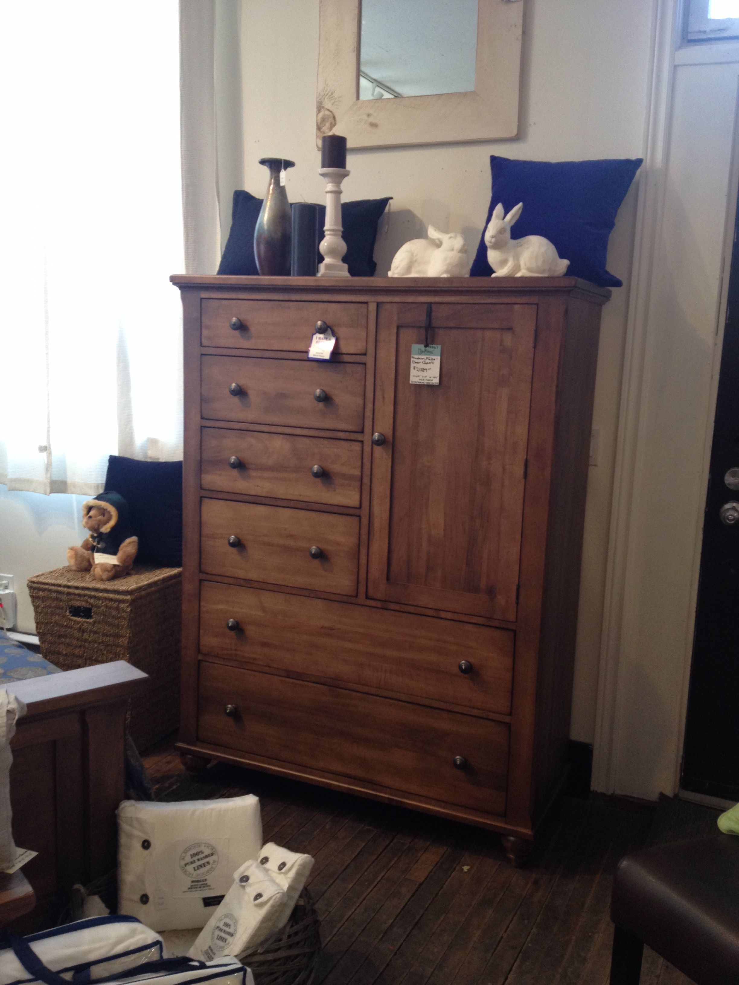 A chest from Durham Furniture. It has a secret