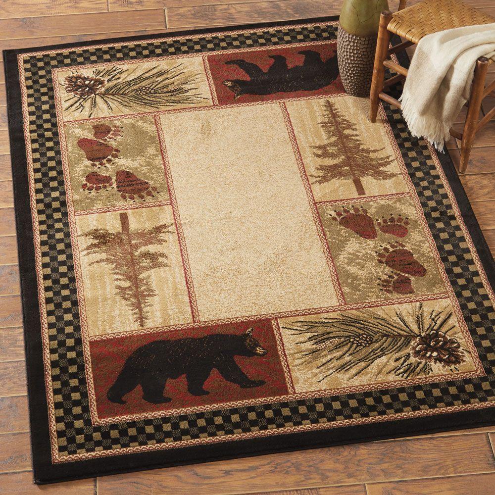 timber woods bear rug - 8 x 10 | home | pinterest | timber wood