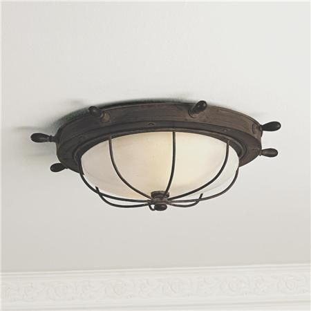 Captains ceiling light from shades of light for the home captains ceiling light from shades of light aloadofball Images