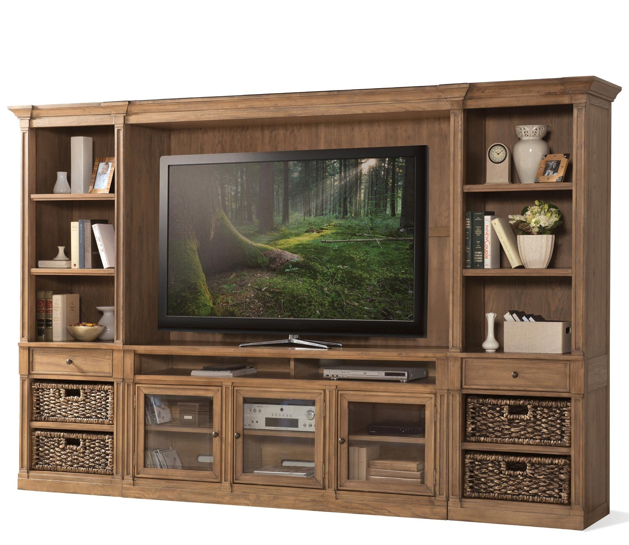 Sherborne entertainment center by riverside home gallery stores
