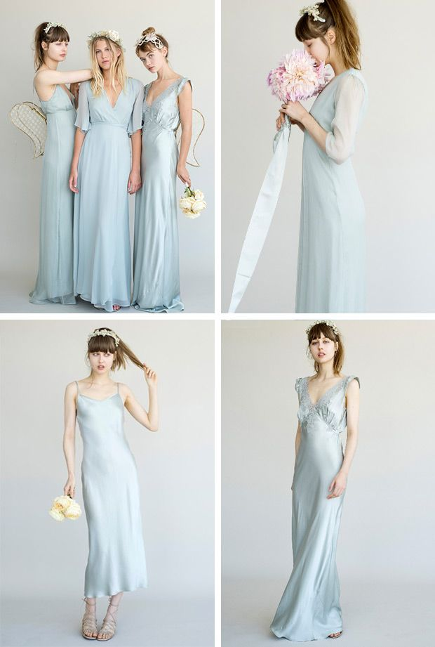 Gorgeous Bridesmaids Dresses From Lily Ashwell Www Onefabday