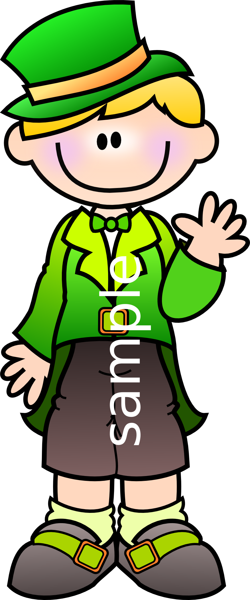 new st patrick s day collection available for web or print use rh za pinterest com free thistle girl clipart