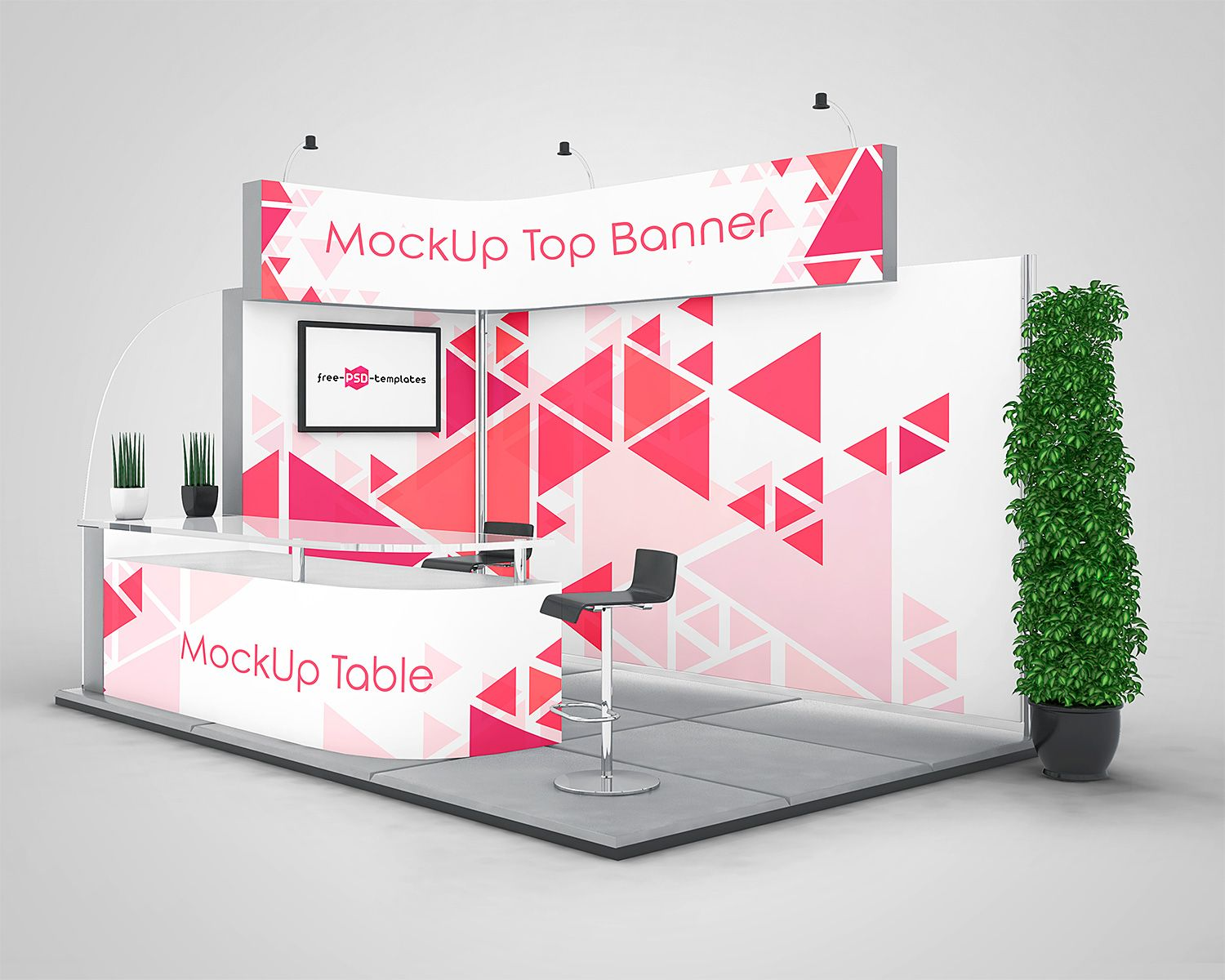 Exhibition Stall Design Software Free Download : Exhibition stand mock ups free in psd freemockup mockup