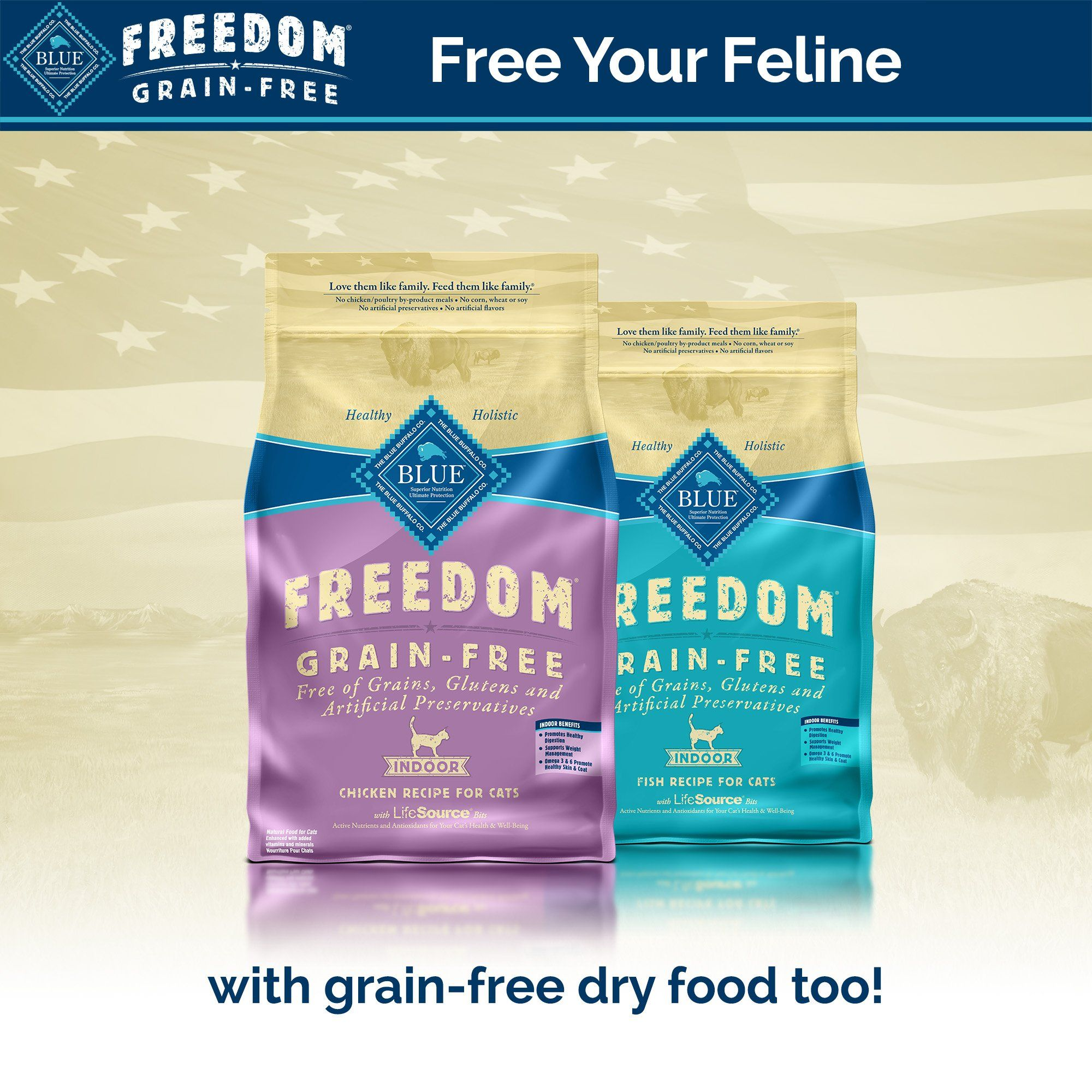 Blue Buffalo Blue Freedom Grain Free Indoor Fish Recipe Wet Cat