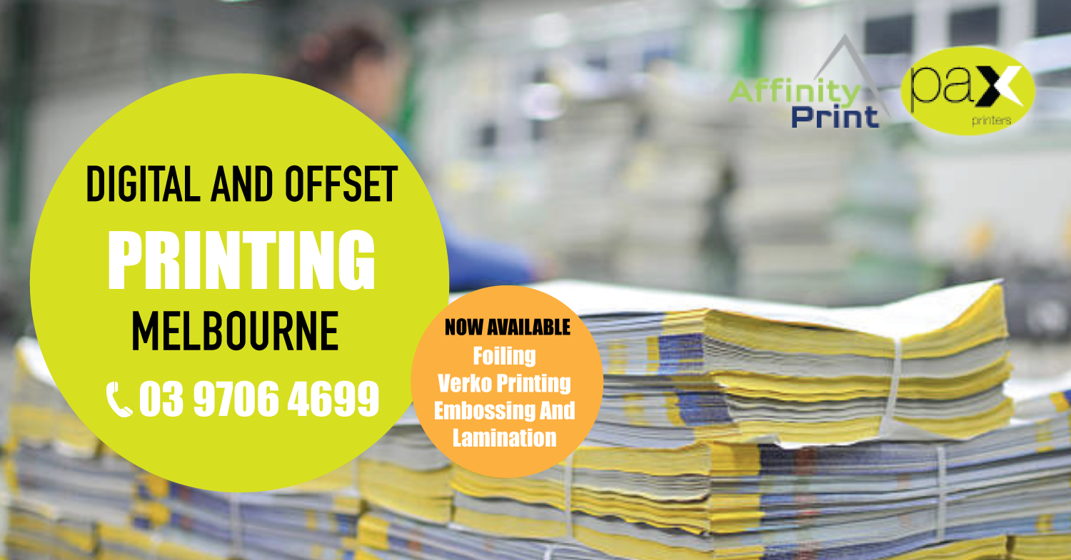 We offer complete printing services to ensure our clients
