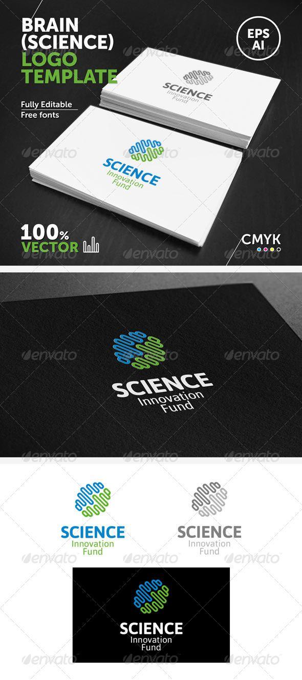 Brain science logo template brain science logo templates and brain science logo template vector freecolor changelogo templatesadobe illustratorbusiness pronofoot35fo Choice Image