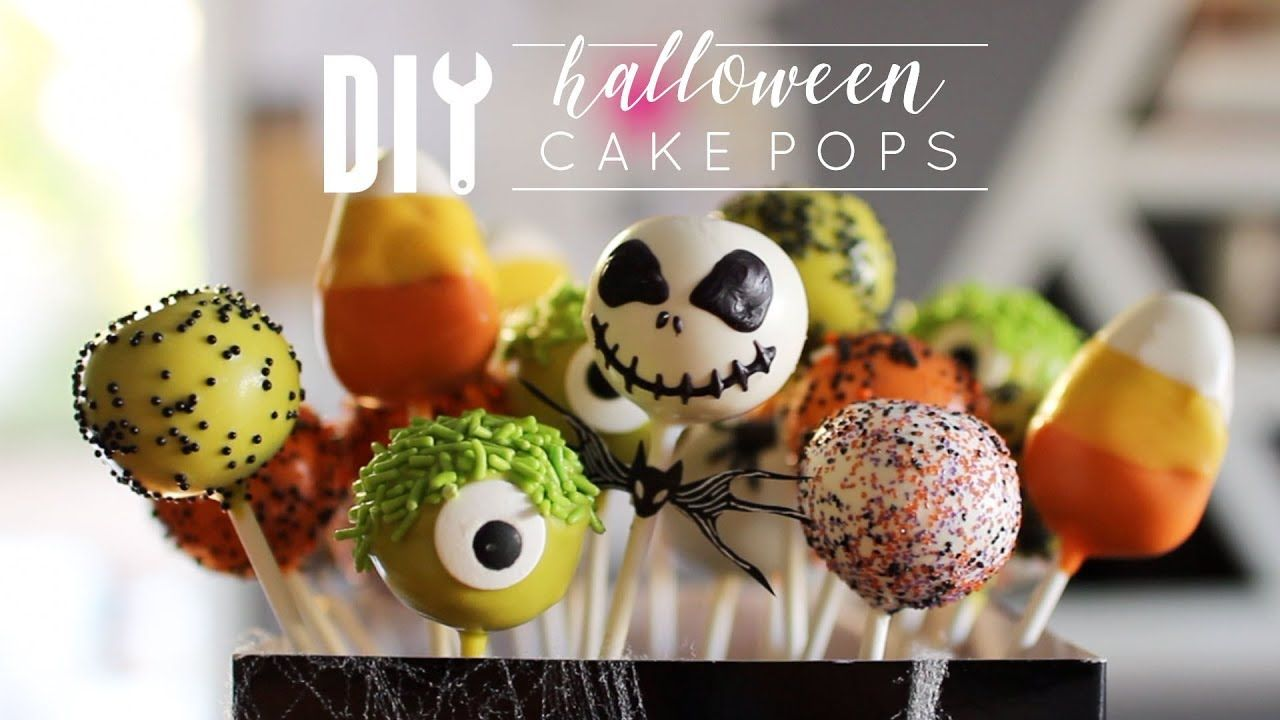 How To Make Halloween Cake Pops By Rachel Metz With Images