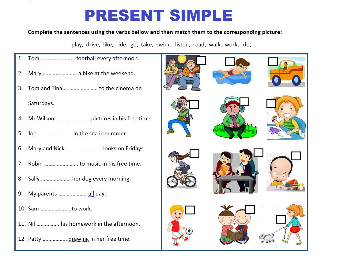 Present Simple Tense Simple Present Tense Worksheets Simple Present Tense Irregular Past Tense Verbs [ 861 x 1146 Pixel ]