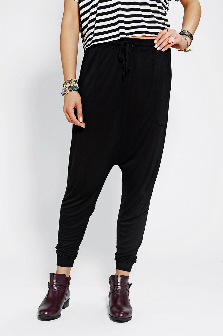 #UrbanOutfitters          #Women #Bottoms           #high-rise #ote #harem #content #inseam #legs #angled #banded #closure #pockets #exclusive #construction #waist #lightweight #perfect #pant #complete #soft #fit #super #side         Ecote Knit Harem Pant     Totally awesome high-rise harem pant from Ecote. Super soft lightweight construction topped with a banded waist and drawstring closure for a perfect fit. Complete with angled side pockets, tapered banded legs and a dropped inseam. UO…