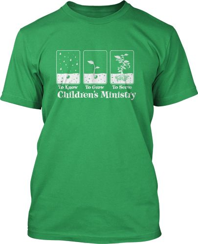 Know Grow Serve Kids Ministry Design #242 | Childrens Ministry T ...
