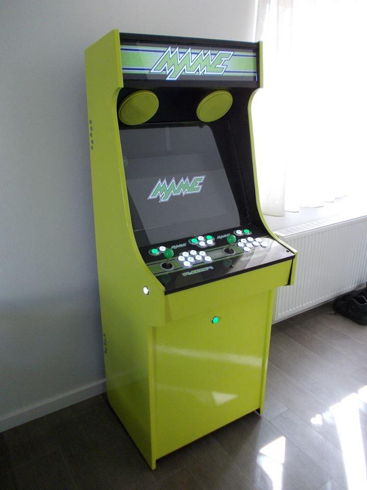 My Homemade Arcade Cabinet Mame S The Game Arcade Diy