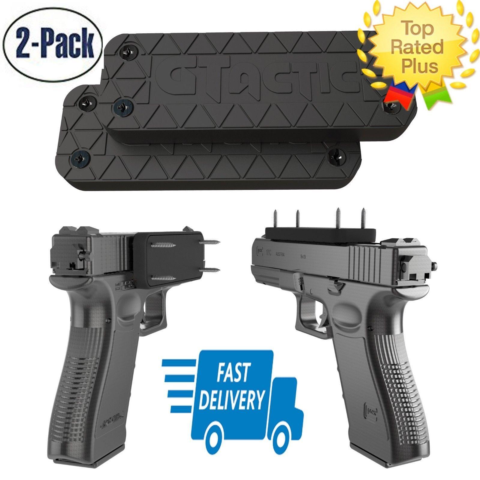 Pin on gun holder