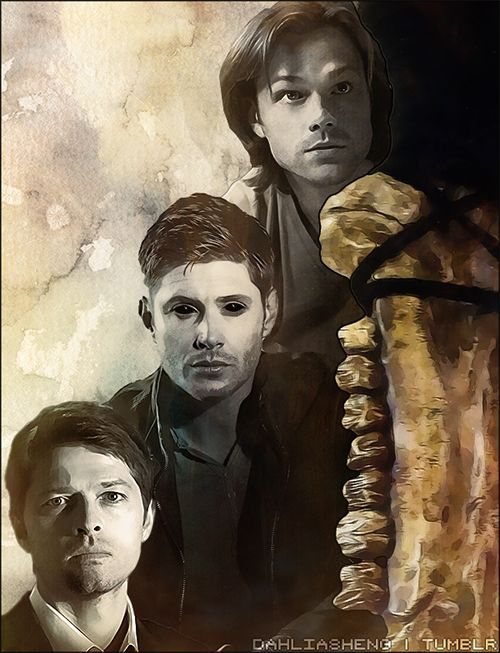 dahliasheng: Team Free Will | SUPERNATURAL Beautiful Art