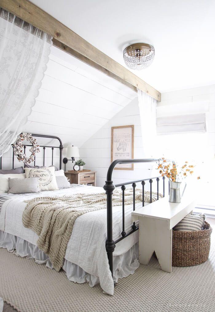 Photo of 25+ idee romantiche per l'arredamento della camera da letto per rendere la tua casa più elegante con un budget limitato