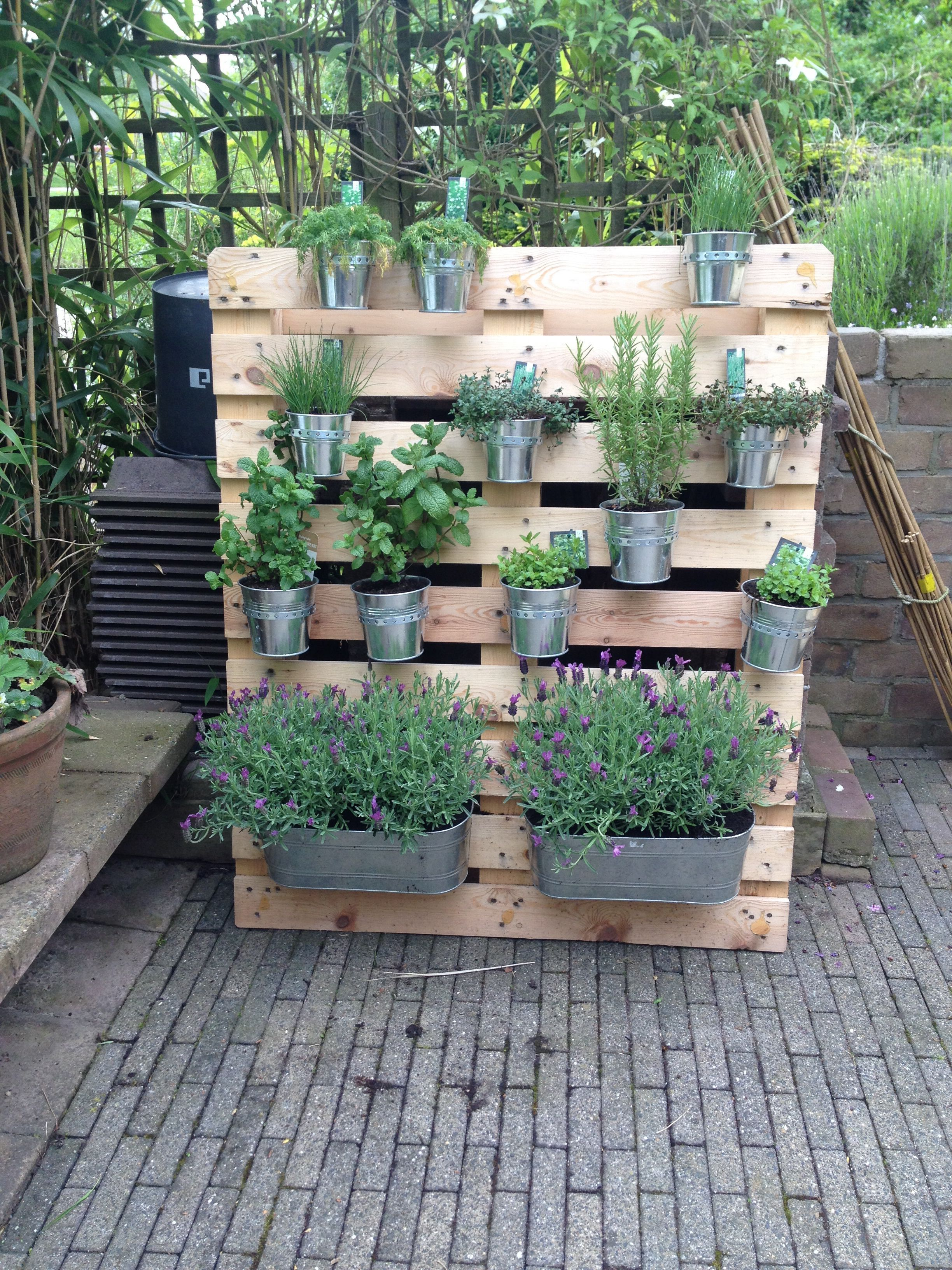 One Means To Utilize A Balcony Is To Transform It Right Into A Yard This Can Improve Your Balcony Herb Garden Pallet Balcony Herb Gardens Small Balcony Garden