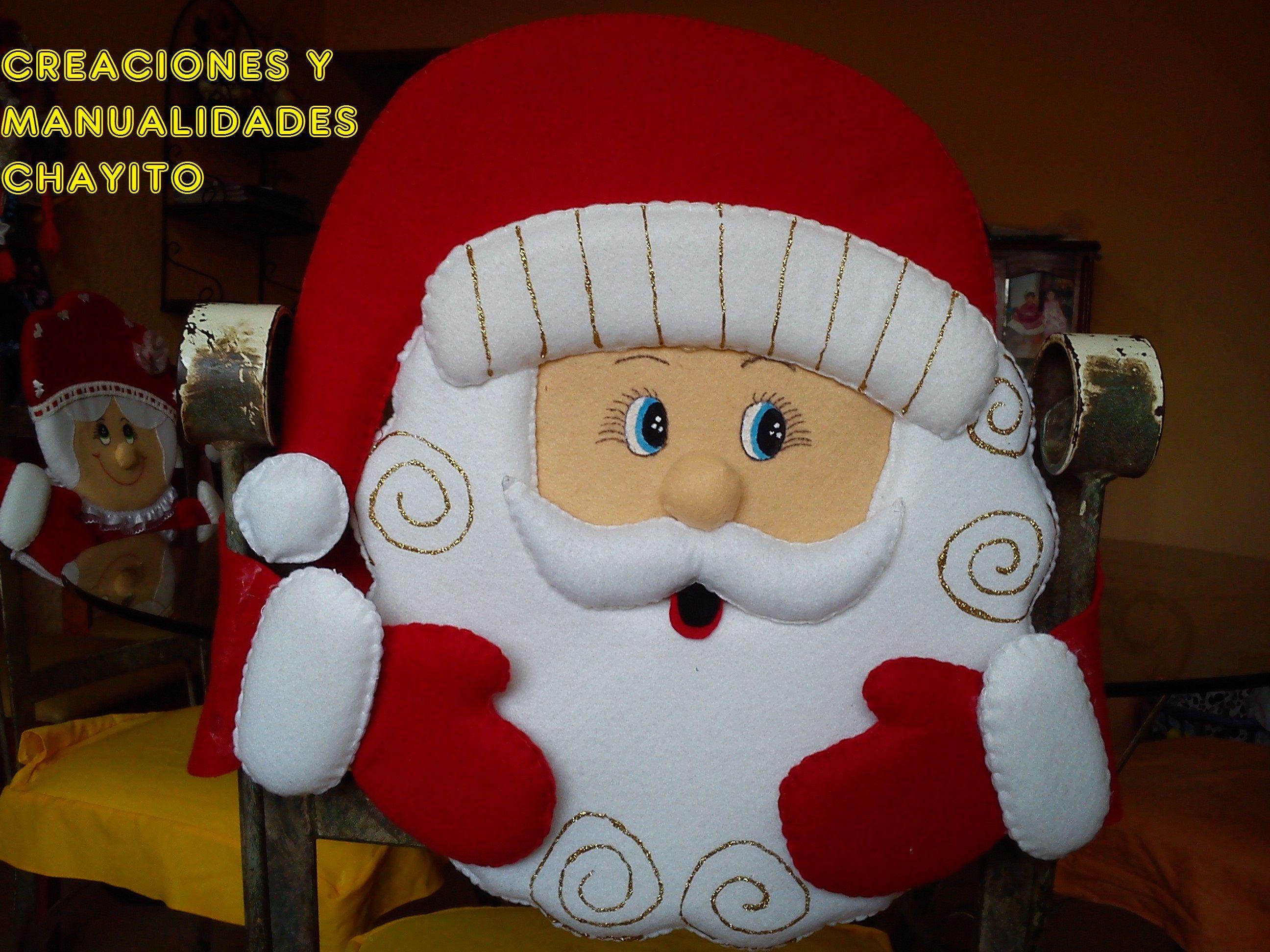 sillas navideños - Buscar con Google | FORROS NAVIDEÑOS PARA SILLA ...