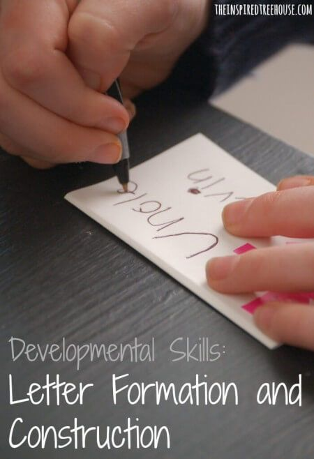 How a child forms letters and how they construct them from start to finish are important skills in child development.  Find out why and how you can help your child form good handwriting habits for life!