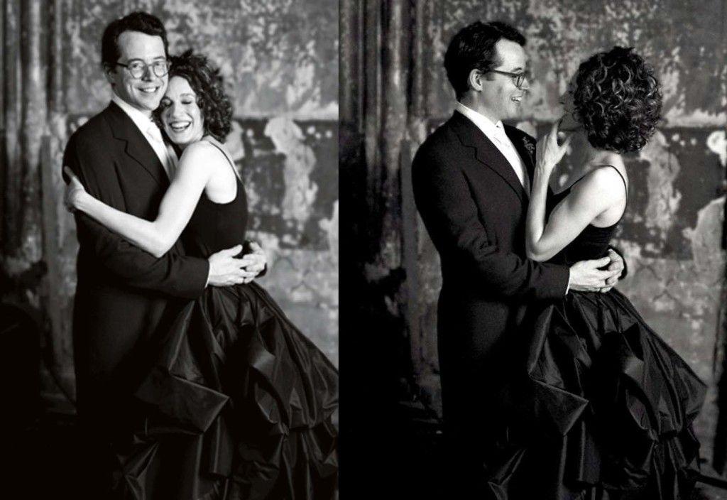 Imagini pentru sarah jessica parker black wedding dress