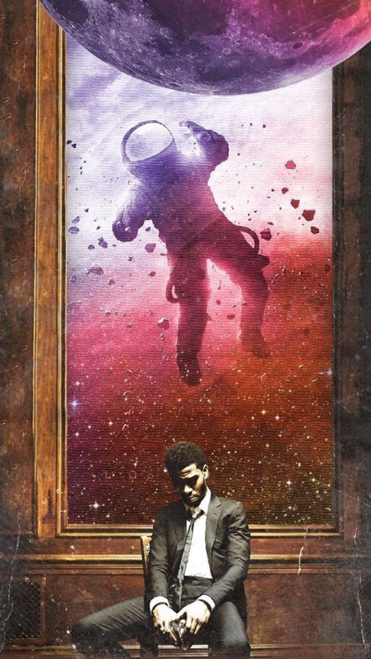 Man On The Moon Kid Cudi Wallpaper Kid Cudi Poster Graffiti Wallpaper