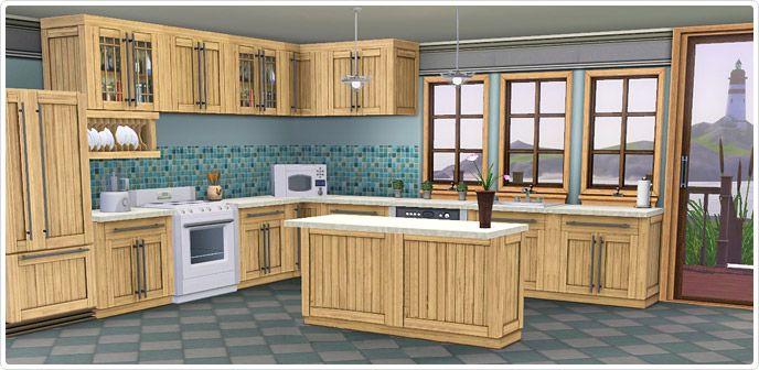 Kitchen Ideas Sims 3 bayside kitchen set @ ts3 store | ts3 kitchen stuff | pinterest