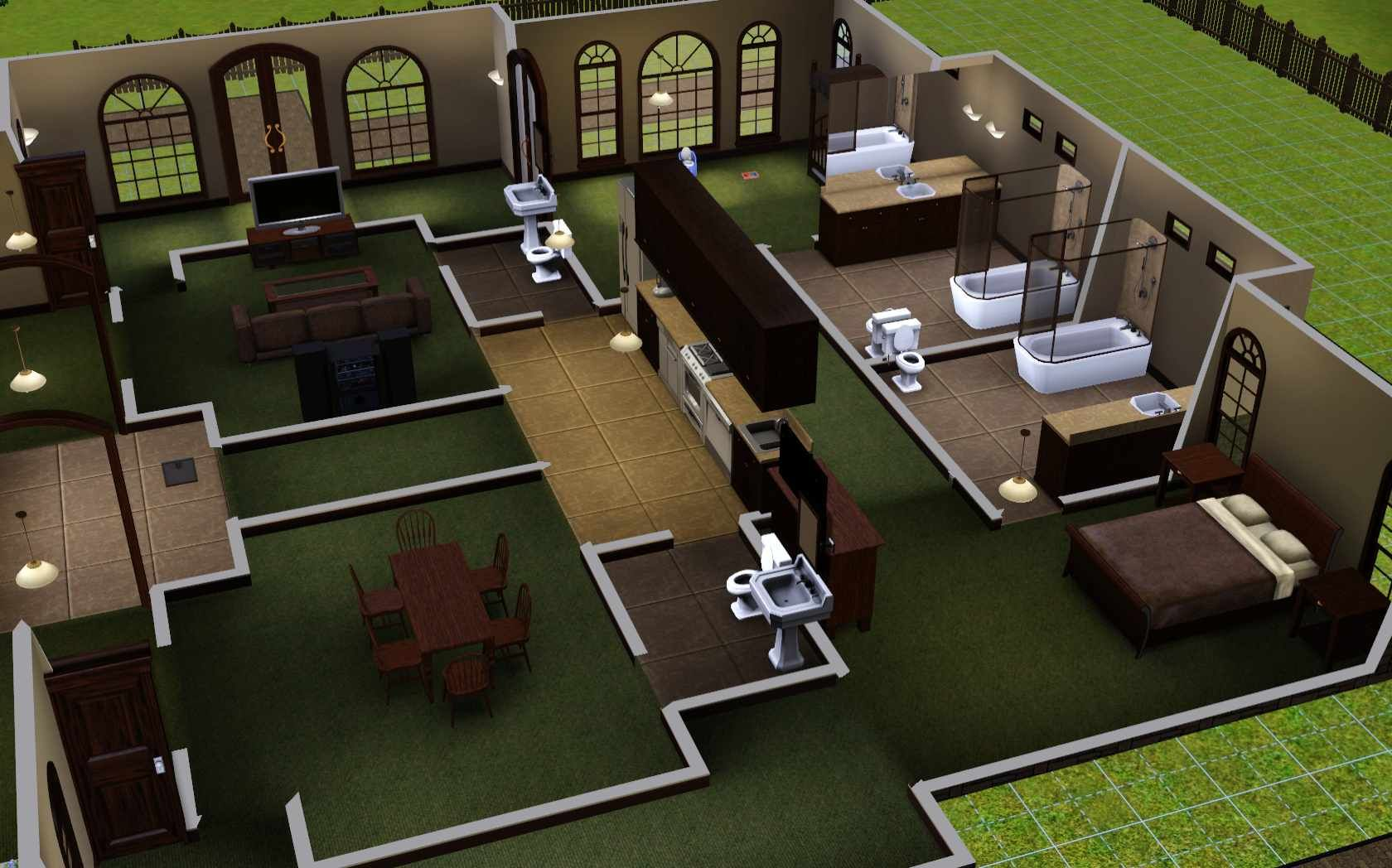 Pin by Hamad AlDhanhani on Sims Sims house design, House