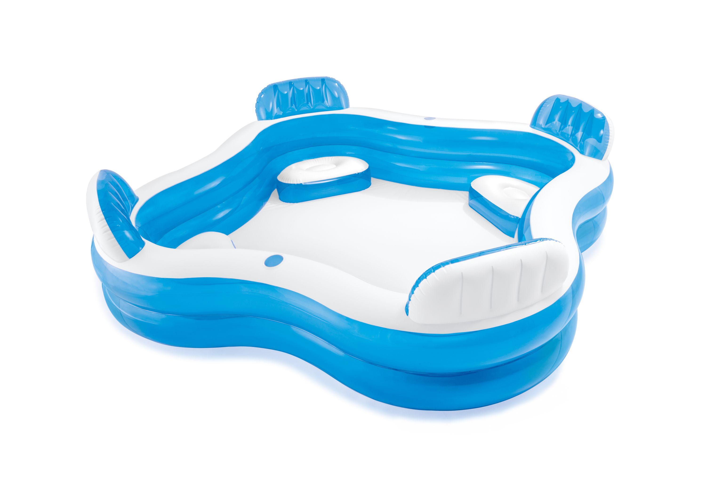 Intex 56475 Inflatable Kiddie Pool With Seats In 2020 Kiddie
