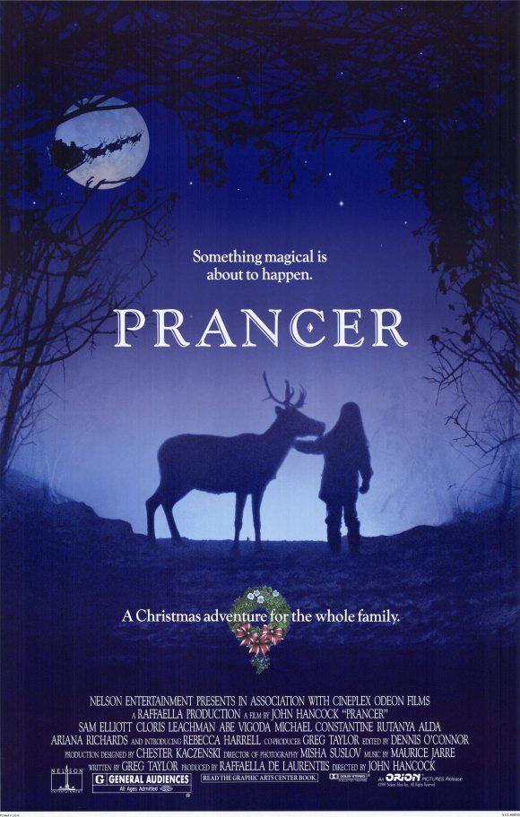 Prancer , starring Sam Elliott, Cloris Leachman, Rutanya Alda, Abe ...