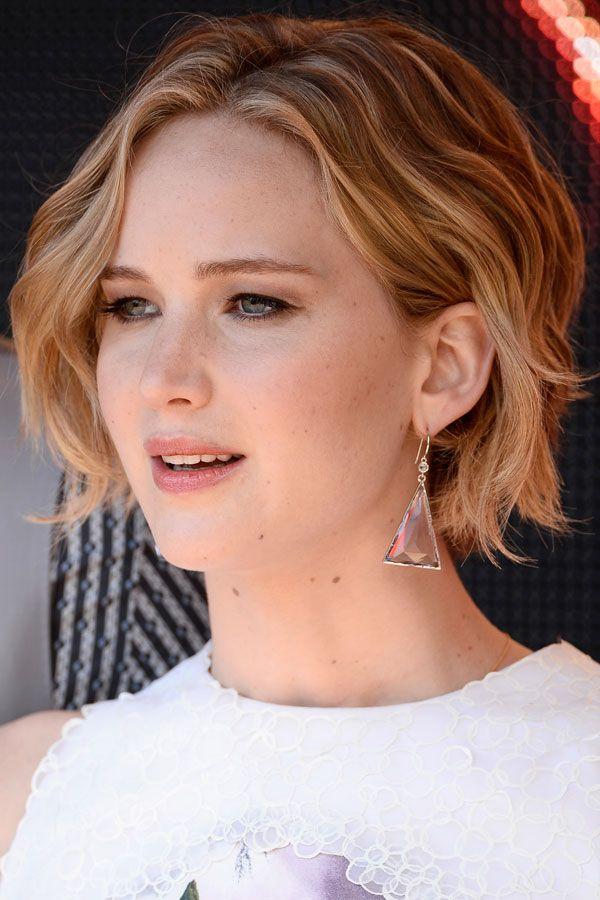 Bob-Frisur von Jennifer Lawrence | Hairstyle | Celebrity ...