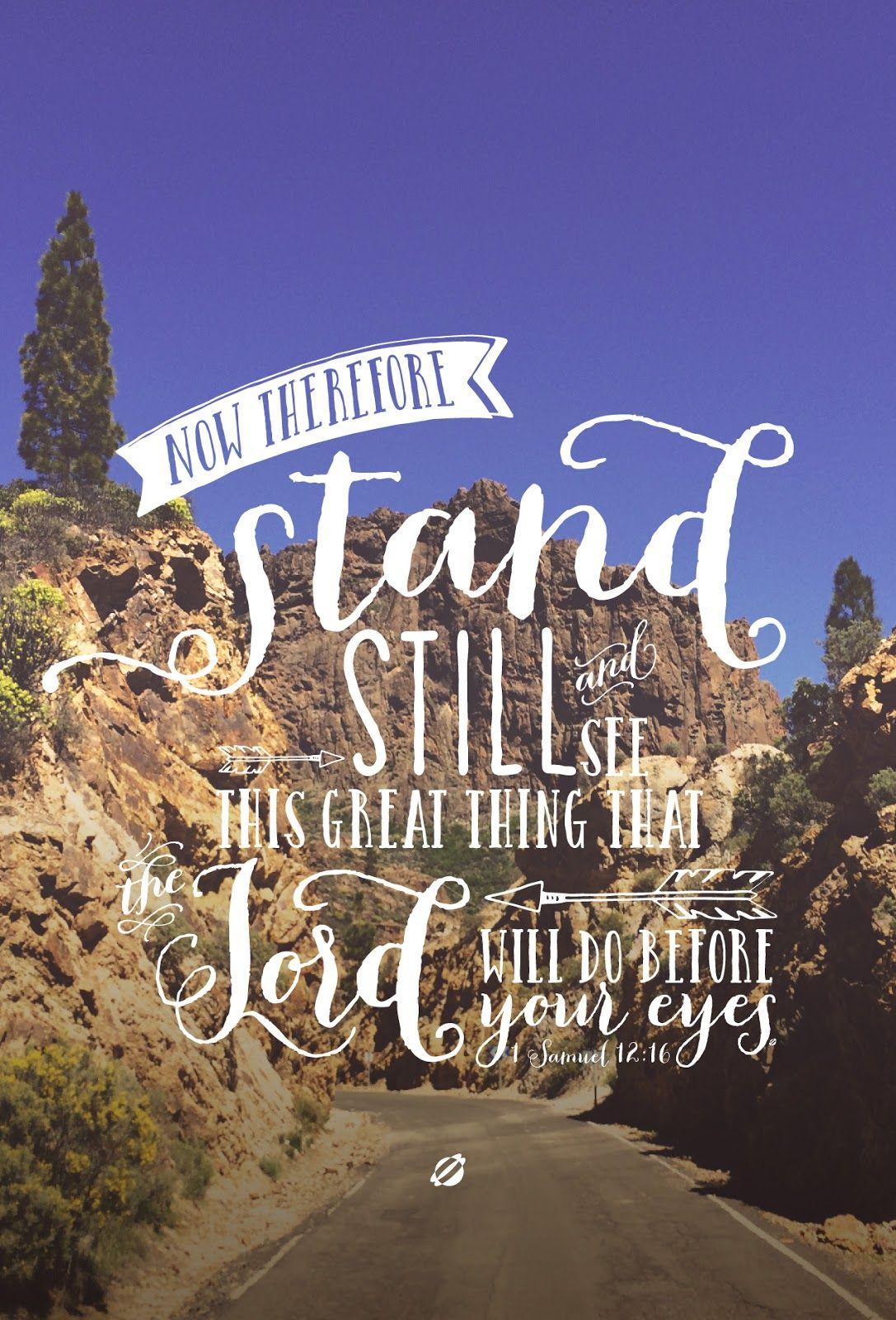 Cute Pintrest Quote Wallpapers Lostbumblebee 169 2015 Bible Verse 1 Samuel 12 16 Free