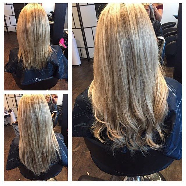 Before And After Of Our Amazing Hothead Extensions Its Magic