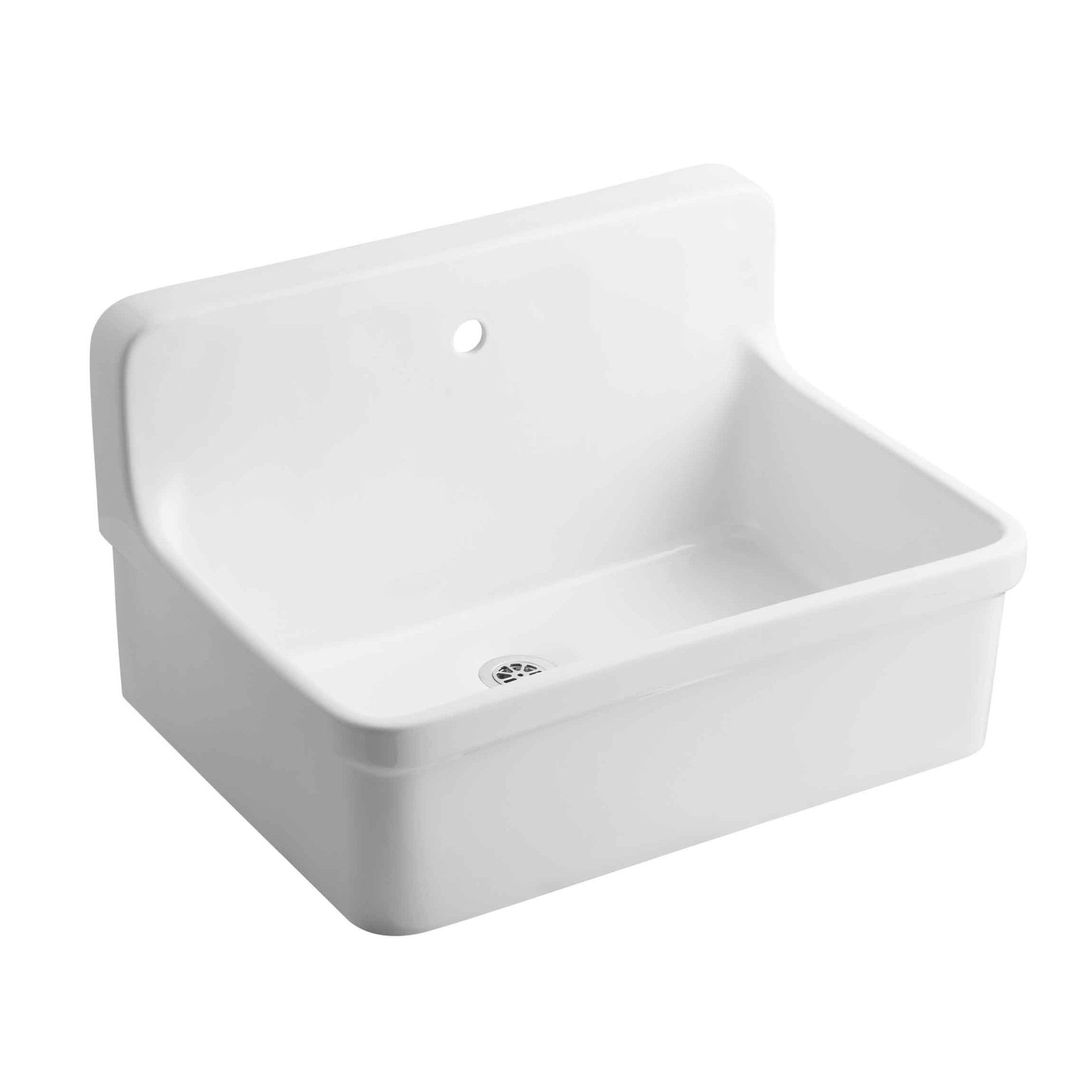Gilford 30 X 22 Wall Mounted Laundry Sink Laundry Sink Laundry Room Storage Shelves Laundry Room Sink
