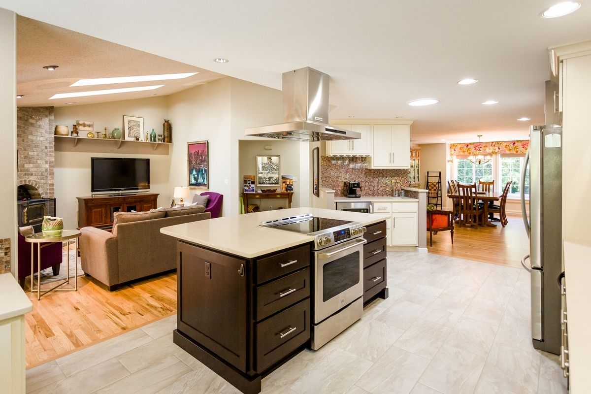 Kitchen Island With Stove And Oven Ranges Kitchen Island With
