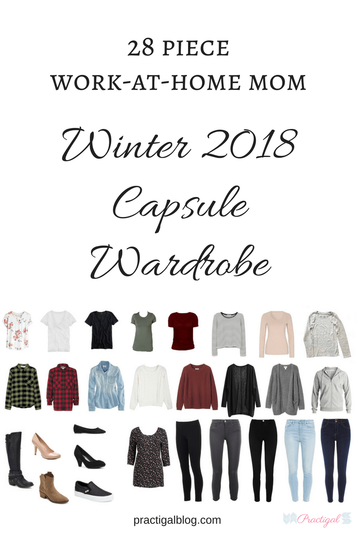 Work-At-Home Mom 2018 Winter Capsule Wardrobe