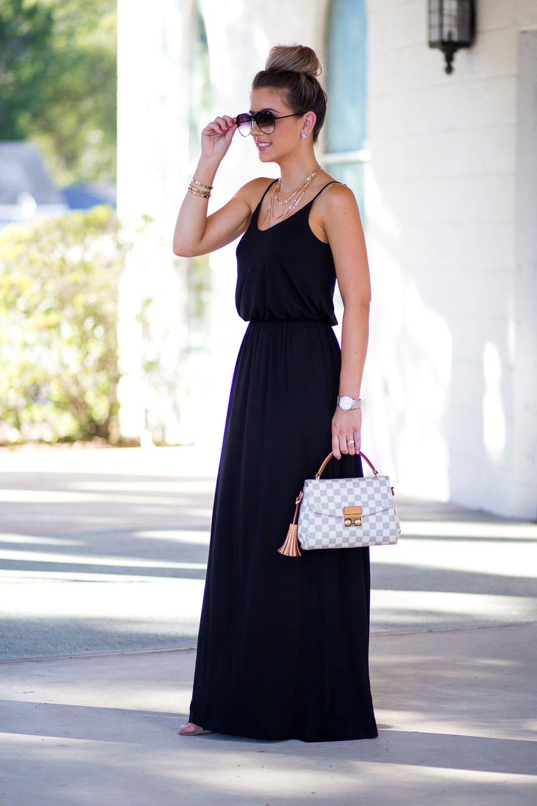 fcf44838380ba Little black dress Under  50. Louis Vuitton Croisette bag