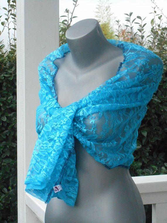Etole écharpe foulard châle dentelle  turquoise créateur  lin eva mariage cérémonie nouvelle collection printemps été  2018 agréable douce 99a8596393d