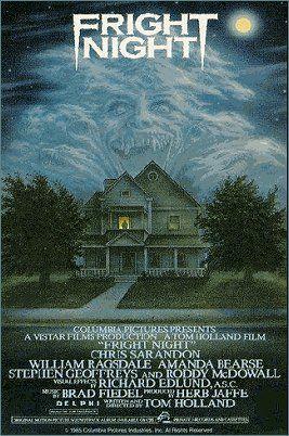 1985 Fright Night A Poster Cartazes De Filmes De Terror