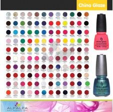 China Glaze - All color collections | Nail Supply | Gel nail polish ...