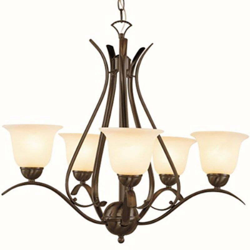 Trans Globe Lighting Aspen PL-9285 Chandelier - PL-9285 ROB