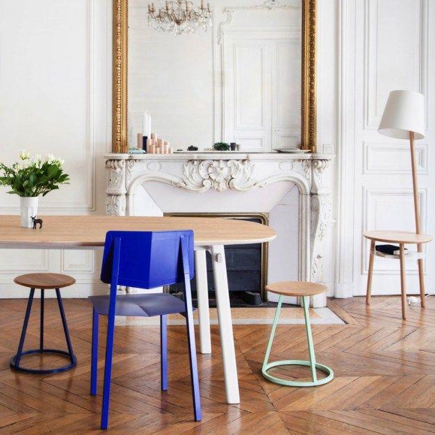 Le Bleu nous Electrise | Cuisine salle à manger, Chaise