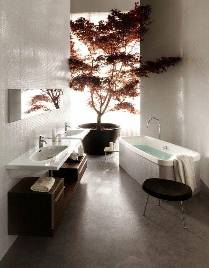 ment créer une salle de bain zen