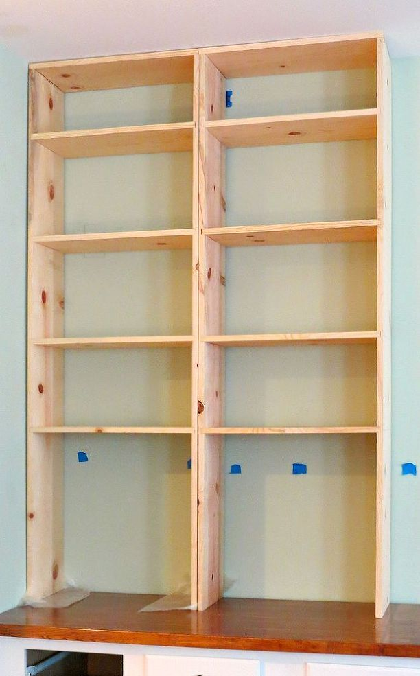 Do It Yourself Home Design: DIY Built-in Bookcases In 2019
