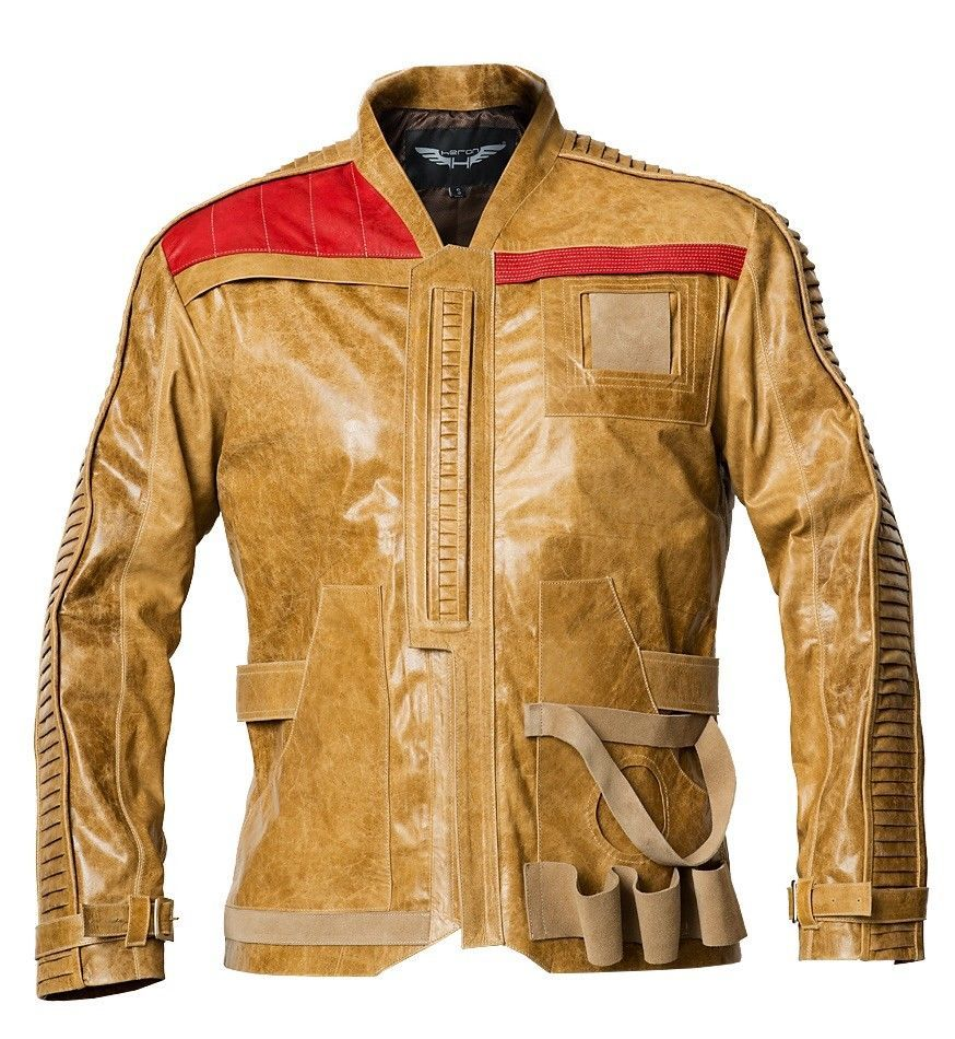 Mens Jacket Genuine Leather Finn Sizes XSXL Imported From