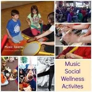 Music A Fun Approach To Social Wellness Activities Wellness Activities Therapy Activities Art Therapy Activities