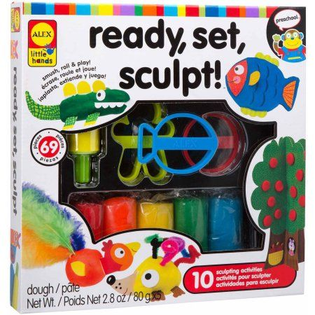 Alex Toys Little Hands Little Hands Ready, Set, Sculpt, Multicolor