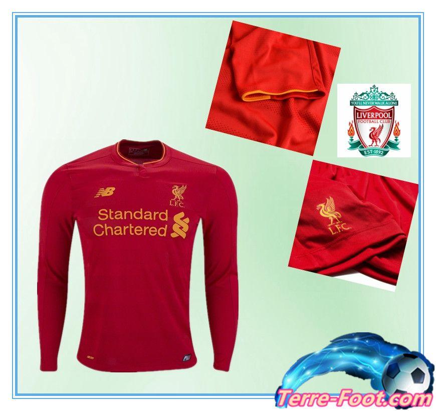 tenue de foot Liverpool nouveau