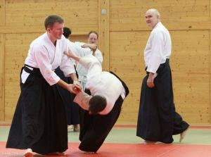 Aikidolehrgang im Budokan Wels / Oberösterreich, Mai 2014: Kotegaeshi