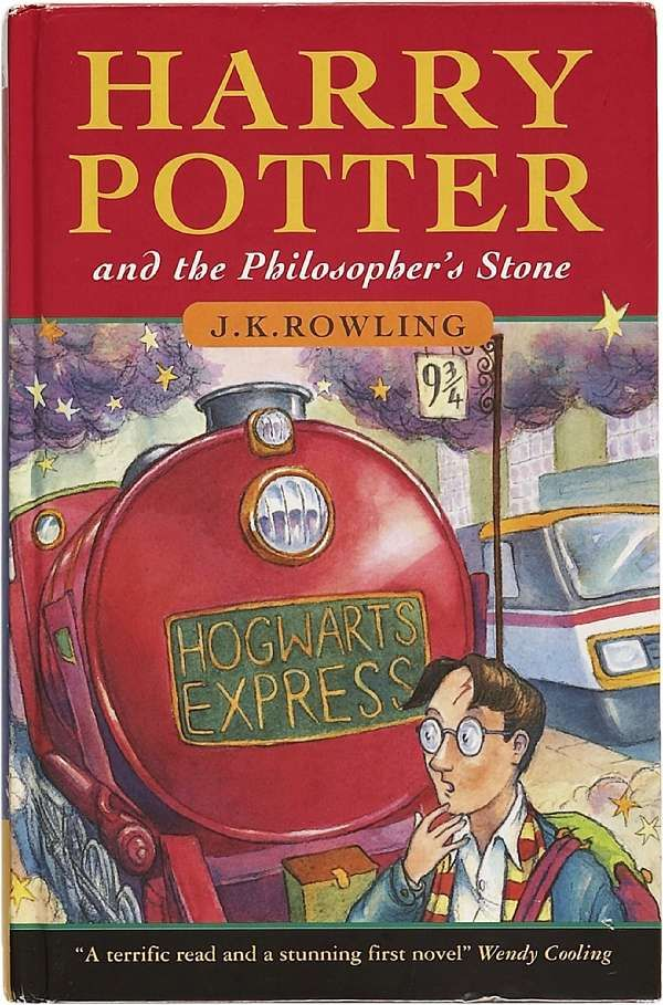 Harry Potter And The Philosopher S Stone 1st Edition Sells For