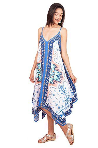 Womens Juniors Boho Tropical Long Dress Small Cream *** Learn more by visiting the image link.