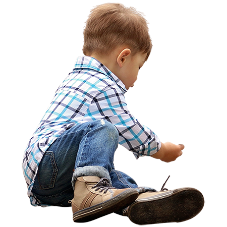 A Toddler Playing On The Ground In Designer Clothes People Cutout Render People People Png